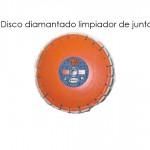 Disco diamantado limpiador de junta